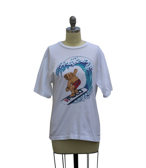 59af12f59dad49 Vintage Polo Sport Surfing Bear T Shirt (Size Youth M) — Roots
