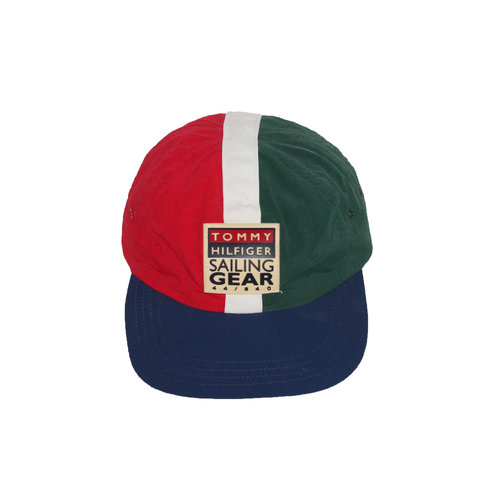 a4e2c332 Vintage Tommy Hilfiger Sailing Gear Colorful Snapback — Roots