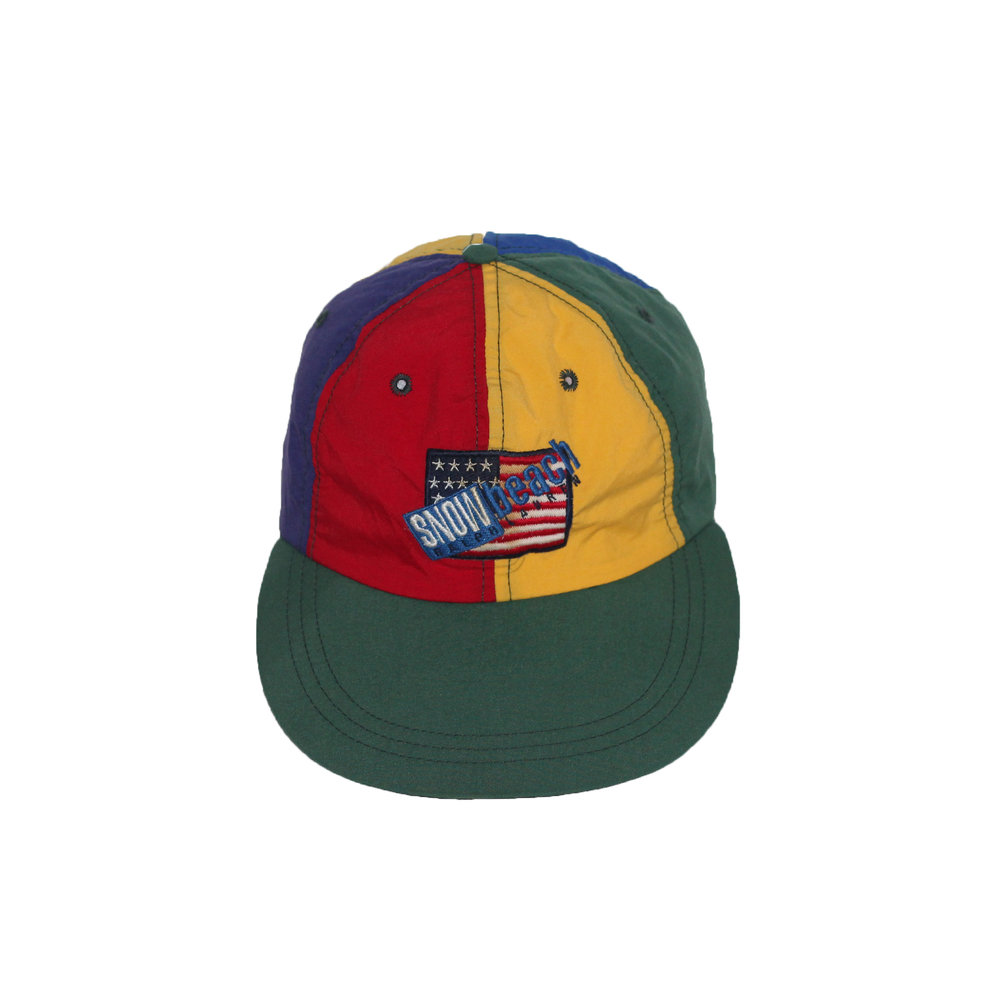 83819b288ed Vintage Polo Sport Snow Beach Cold Wave Fitted Hat (Size S) — Roots