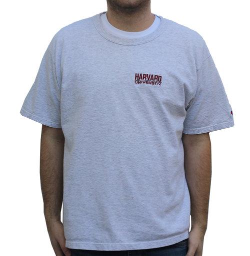 5af154d6 Vintage Champion Harvard University Light Heather Grey T Shirt (Size ...