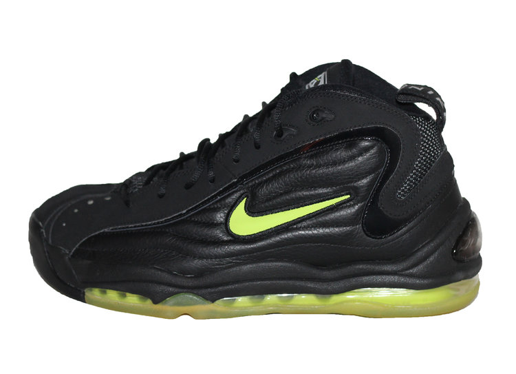 Nike Air Total Max Uptempo LE Black   Volt (Size 10.5) DS — Roots 0c956f76f