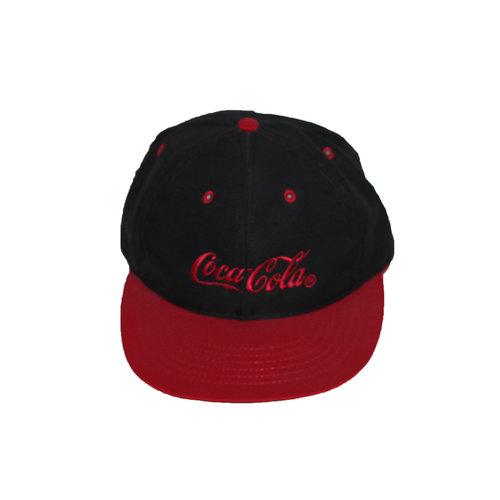 Vintage Coca Cola Black   Red Snapback Hat — Roots 70a42f4d3f23