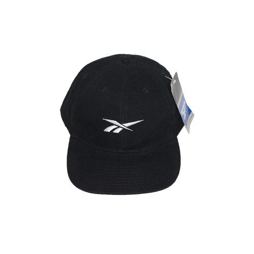 Vintage Reebok Black Velcro Strap Back Hat NWT — Roots 2b02401c081