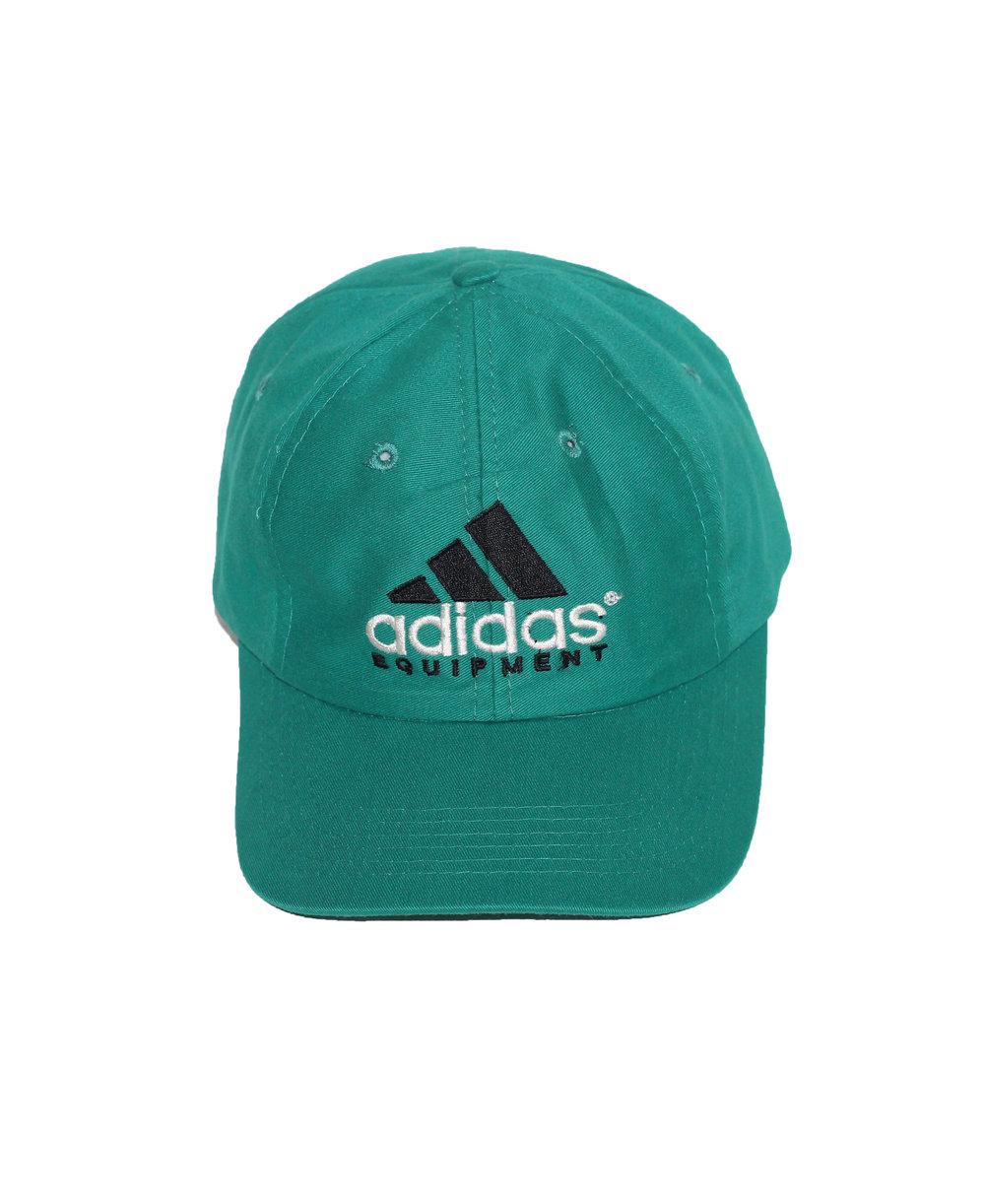 Vintage 90s Adidas Equipment strap back hat 21fb611bdac7