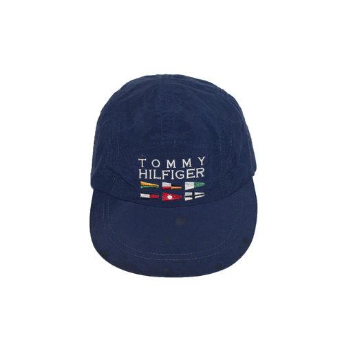 08ec197b Vintage Tommy Hilfiger Sailing Gear Navy 5 Panel Hat — Roots