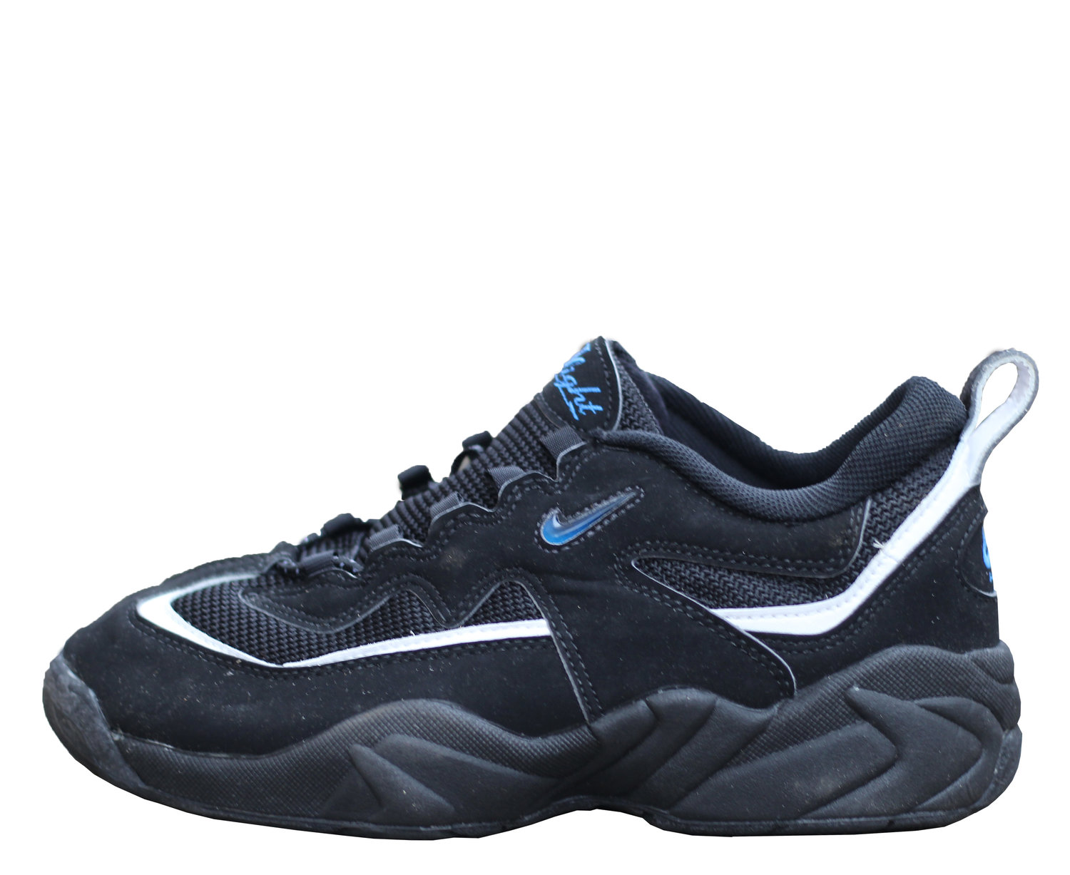 super popular 98491 5e291 Nike Air Lambaste Black  Royal DS — Roots