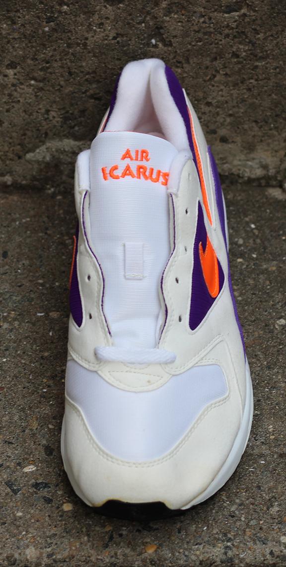 various colors 1e5e5 67fb1 Nike Air Icarus Extra White   Orange   Purple (Size 12) DS — Roots