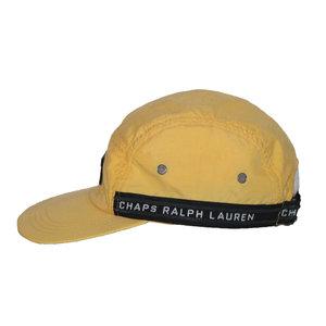 e1ee068aae7d Vintage 90s Chaps Ralph Lauren logo trim 5 panel hat