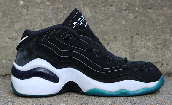 detailed look 622d2 dfe5d Nike Air Zoom Flight 96 black and white