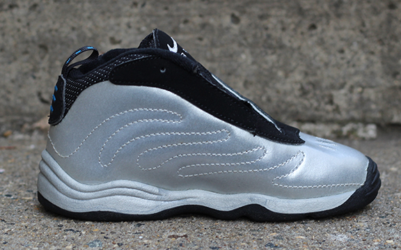 info for 4281f b6adc Baby Nike Little Air Foamposite Max Silver DS