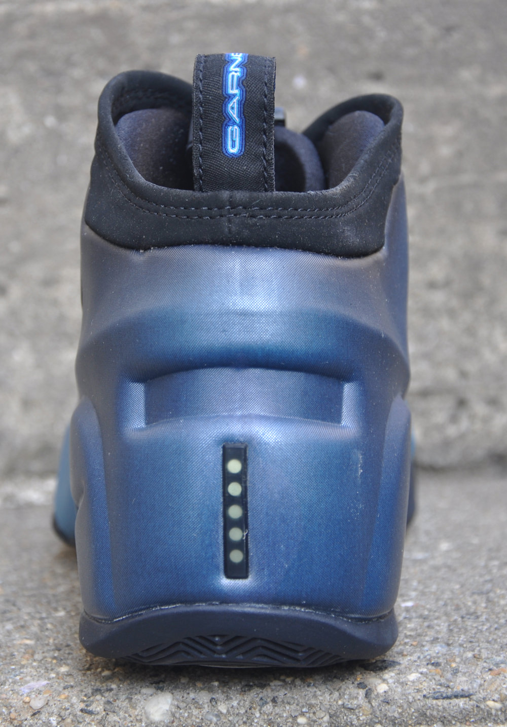 huge selection of 95a63 aeecc Nike Air Flightposite KG Black   Obsidian   Orion Blue (Size 11.5) DS —  Roots