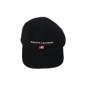 1335636a468 Vintage Ralph Lauren Polo Sport black fleece hat