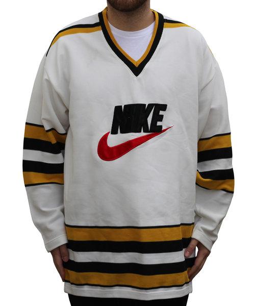 52b29fd80d3 Vintage Nike Big Logo Hockey Jersey (Size L) NWOT — Roots