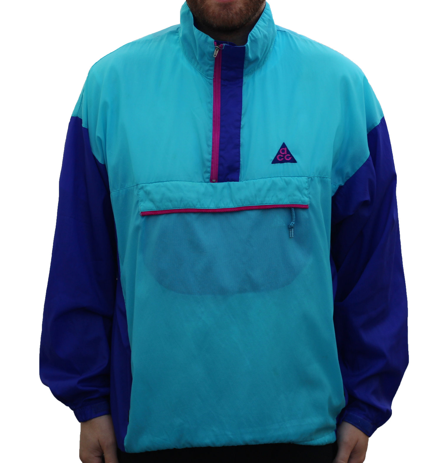 16226c28011f Vintage Nike ACG Snowpatch Spire Colorful Anorak Windbreaker (Size XL) —  Roots