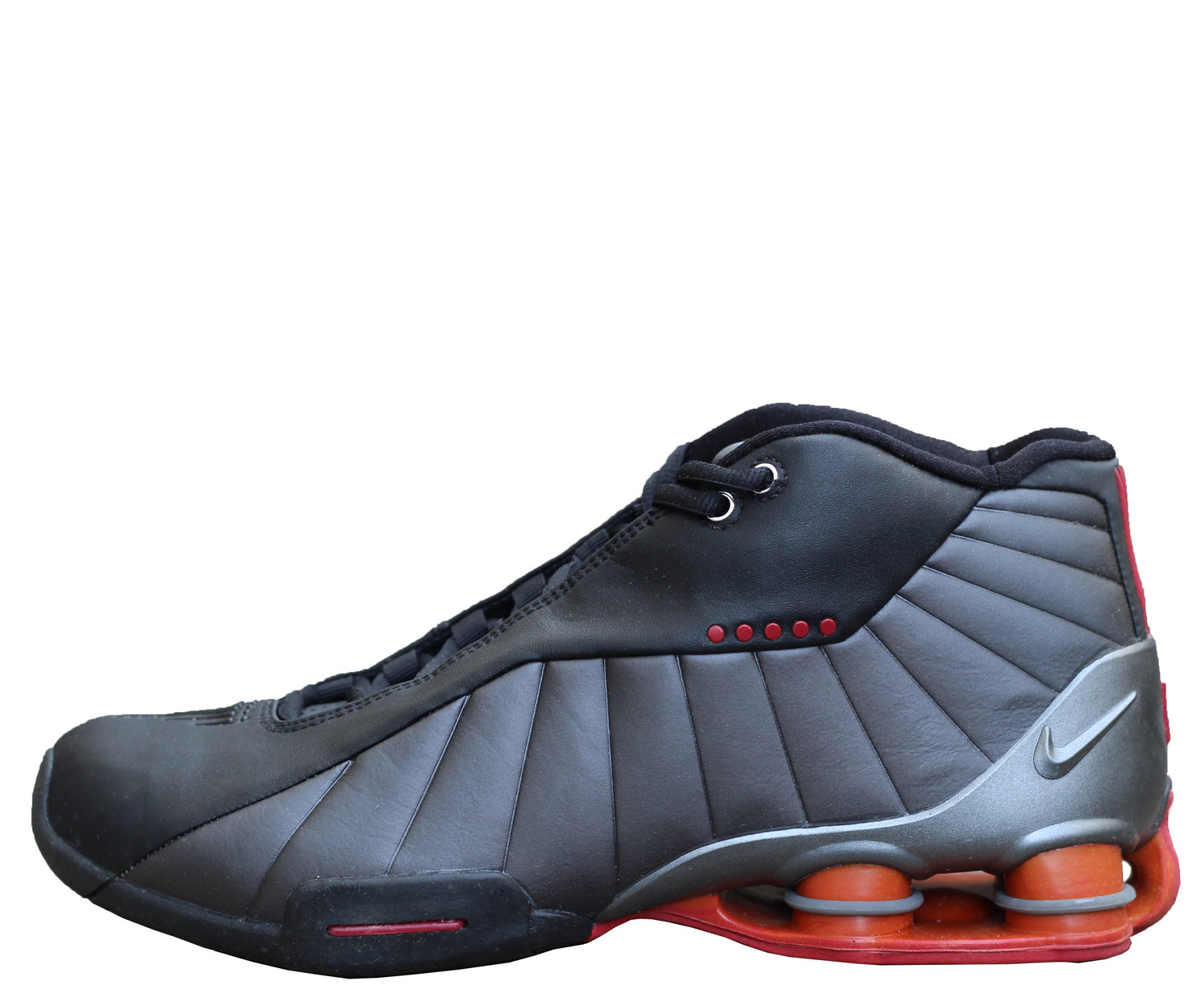 timeless design 682fc 4ab1d Nike Shox BB4 Black   Graphite   Red VC (Size 9.5) DS — Roots