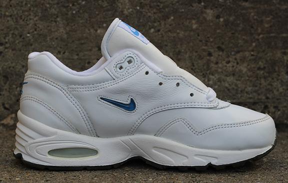 Kids Nike Air Max 1 Leather SC White   Carolina Blue Jewel DS — Roots 8793dd478