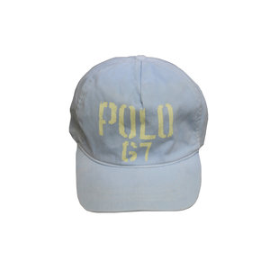 10e26fe365b Vintage Polo 67 light grey strap back hat.jpg