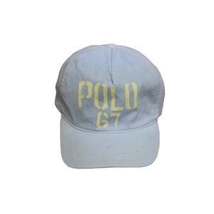 10e26fe365b Vintage Polo 67 light grey strap back hat.jpg