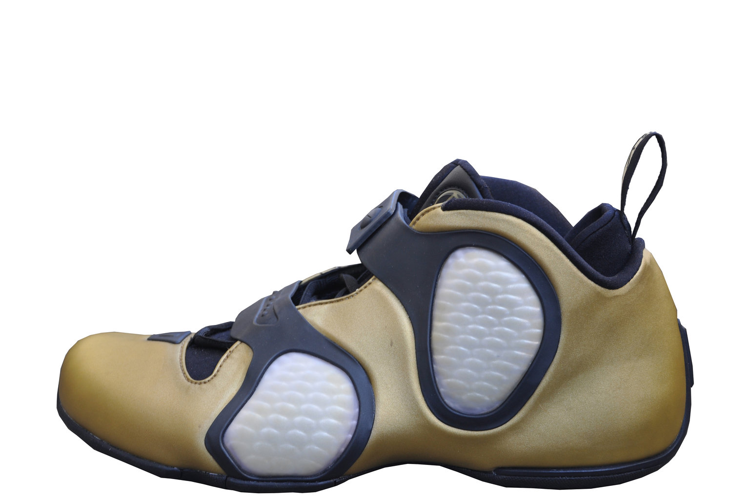 the latest 1e995 45035 Nike Air Flightposite III BG Gold (Size 15) DS — Roots