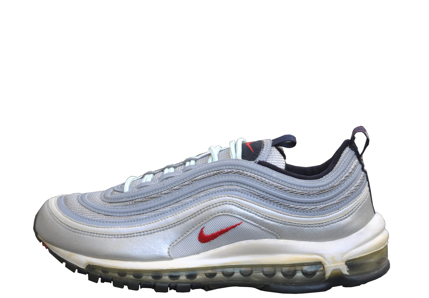 the best attitude 3d994 bef3a Nike Air Max 97 Silver Varsity Red HOA (Size 7.5) DS — Roots
