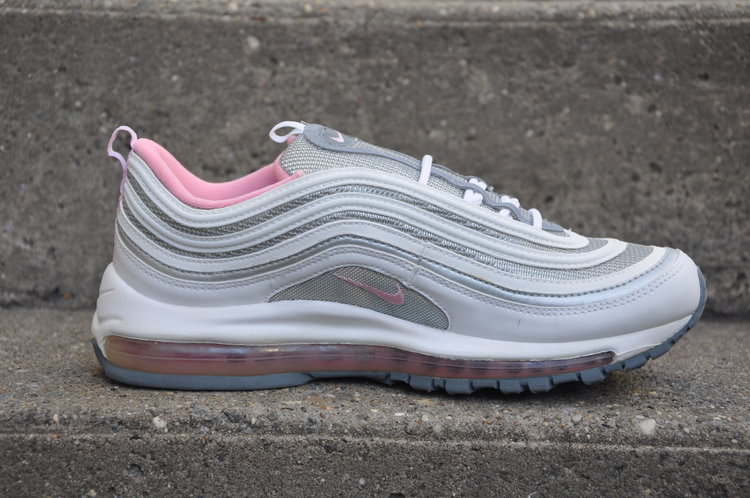 Women`s Nike Air Max 97 White / Pink (Size 10) DS