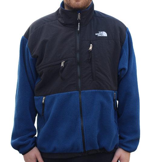 5d9ab876a The North Face Black / Blue Fleece Jacket (Size L)