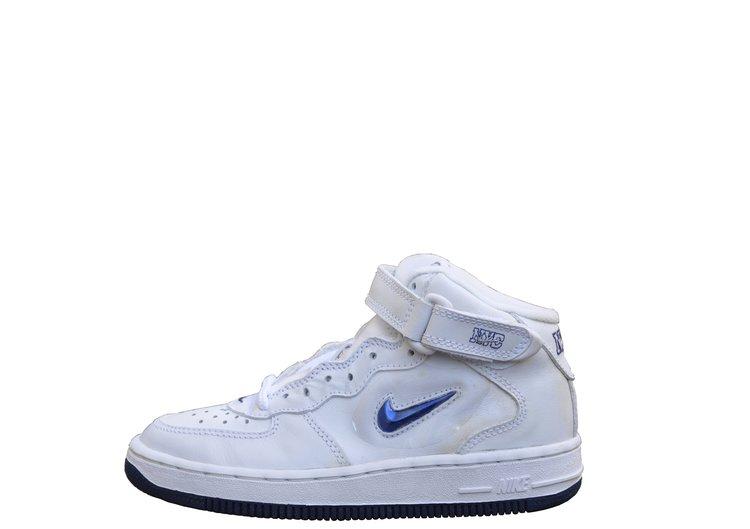 new arrival 35c8a 6b3b4 Kids Nike Air Force 1 Mid SJ SC NYC Metallic Jewel (Size 12) DS