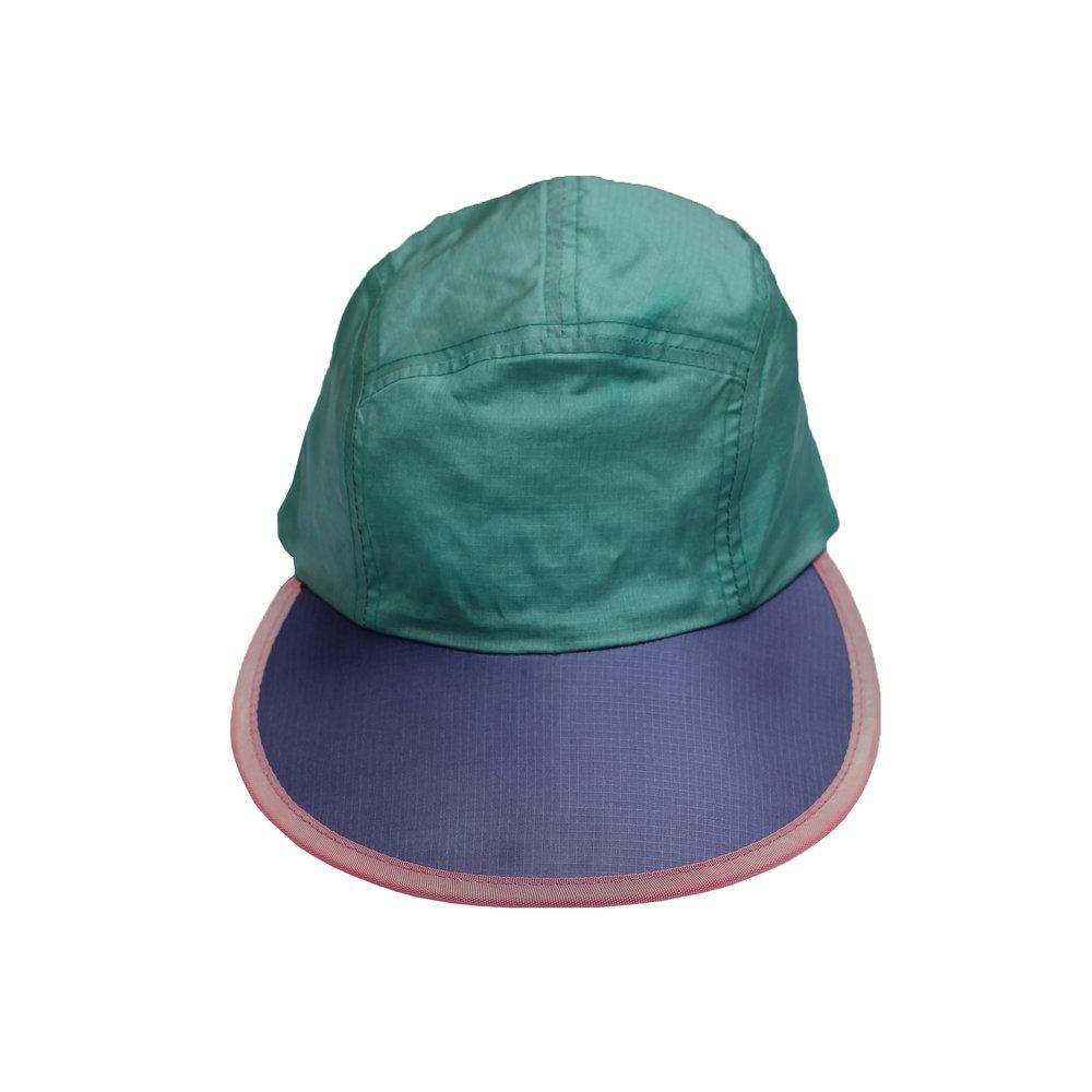 Vintage 90s Columbia Sportswear colorful long bill 5 panel hat. ec7e08b99955