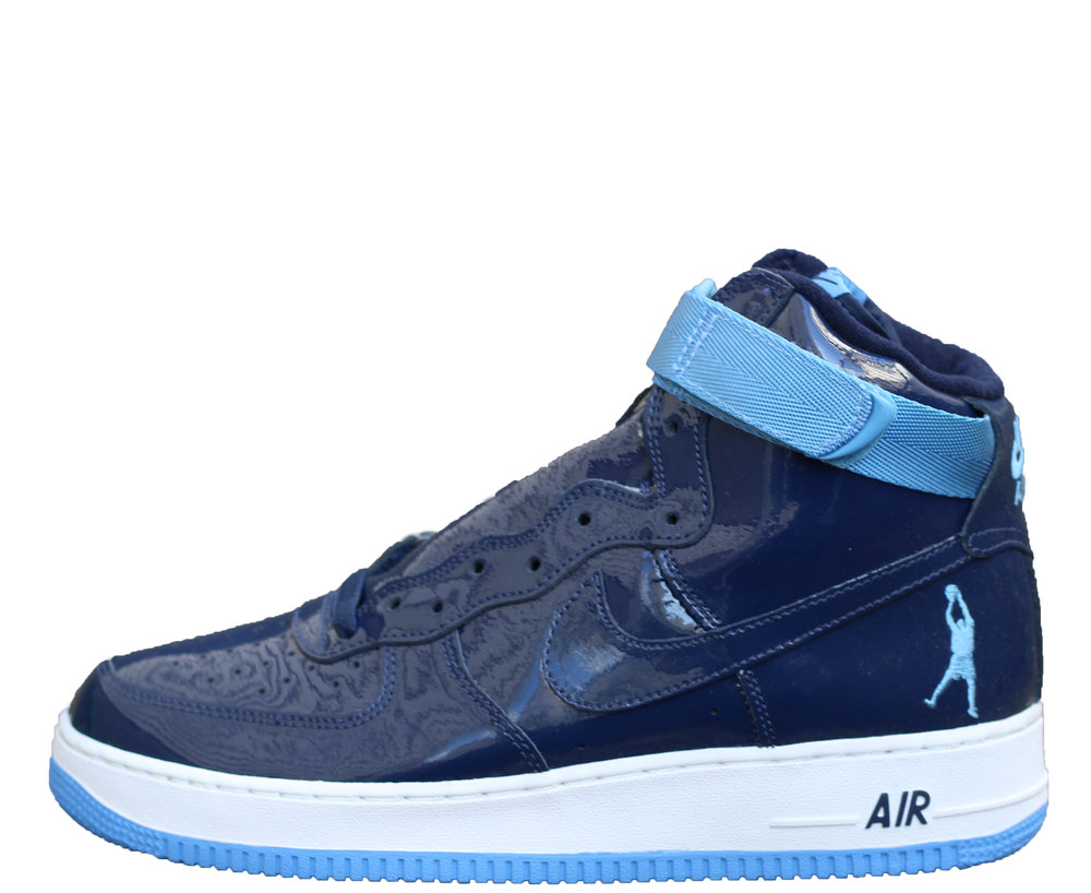 timeless design 5efee 64340 ... best nike air force 1 sheed navy patent leather high fb298 17b4f ...