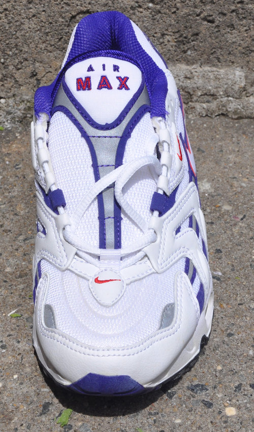 Women`s Nike Air Max 96 White   Grape   Comet Red (Size 5.5) DS — Roots 121cbcb372