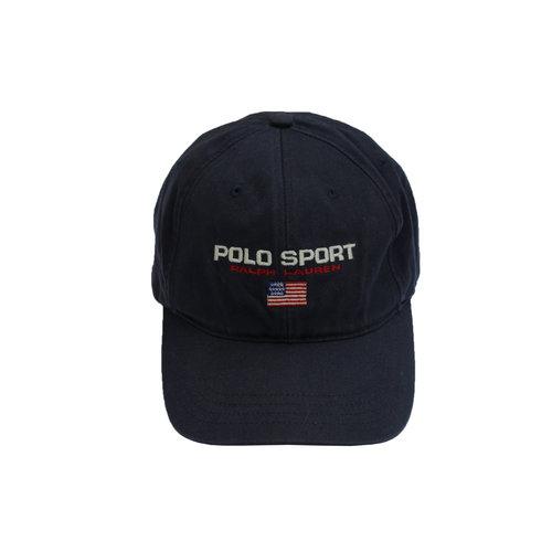 Vintage Ralph Lauren Polo Strap Back Sport Hat L3RjA54q
