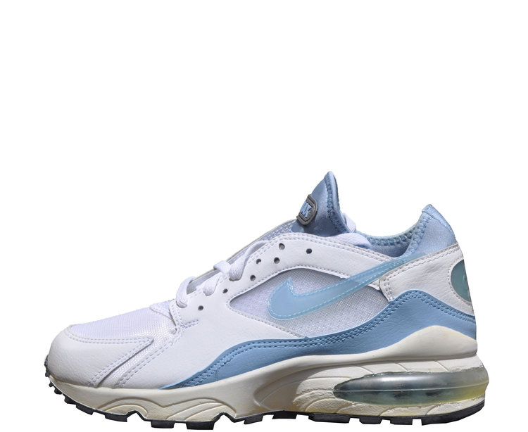 Women`s Nike Air Max 93 White   Heaven Blue (Size 9) DS — Roots 9067cd4908