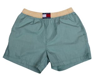 4149fb7ac6 Vintage 90s Tommy Hilfiger Trunks bathing suit.jpg