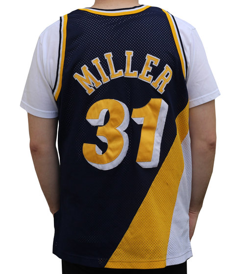 wholesale dealer 1ddb6 367f0 indiana pacers jersey reggie miller