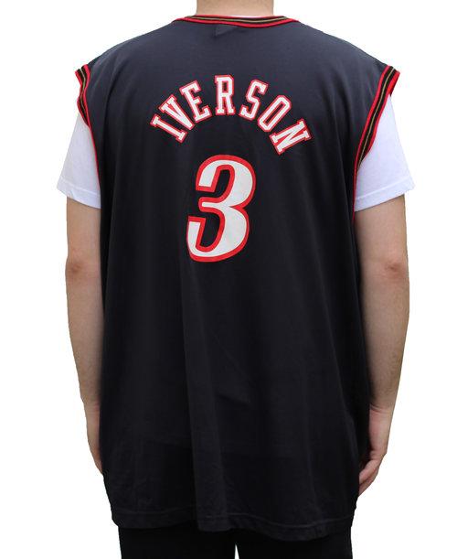 size 40 e8aa9 b0436 allen iverson philadelphia 76ers jersey