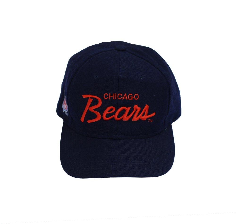 2f5a60b1eddea ... wholesale vintage 90s sports specialties chicago bears snapback 970b7  da372