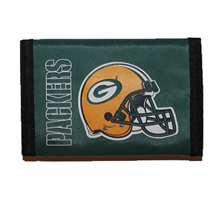 29c8049e Vintage Green Bay Packers Fold Wallet