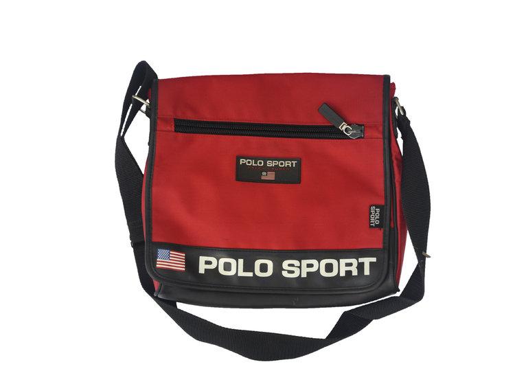 Vintage Polo Sport Ralph Lauren Red Bag — Roots 06bb7ce6af2db