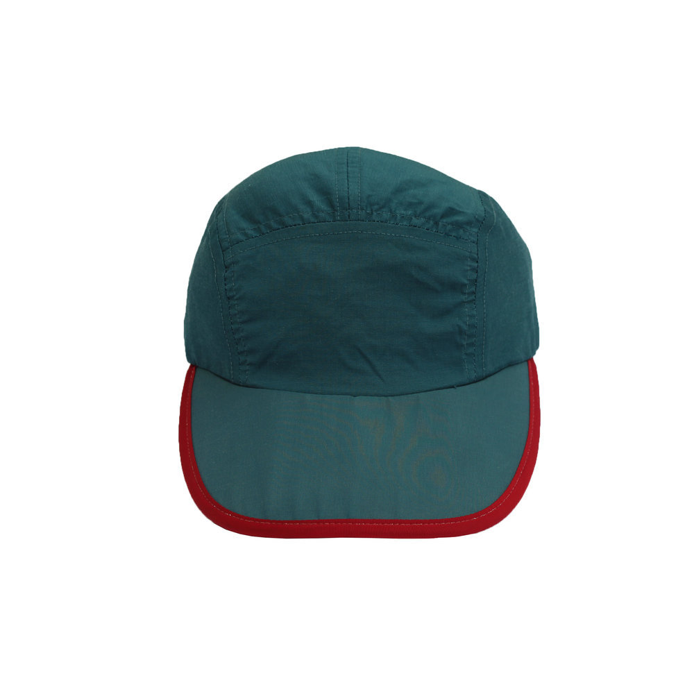 Vintage 90s Patagonia green and red 5 panel long bill hat 3d46e2cab799