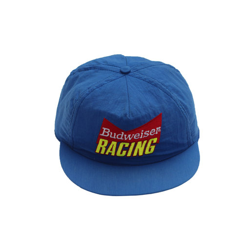 d593540260f11 Vintage Budweiser Racing Snapback Hat — Roots