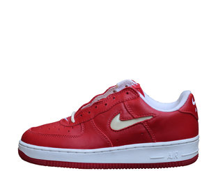 info for 381a7 6f56e Kids Nike Air Force 1 SC Red Jewel.