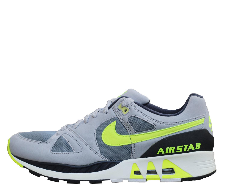 super popular 28517 e182a Nike Air Stab Grey   Volt (Size 13) DS — Roots