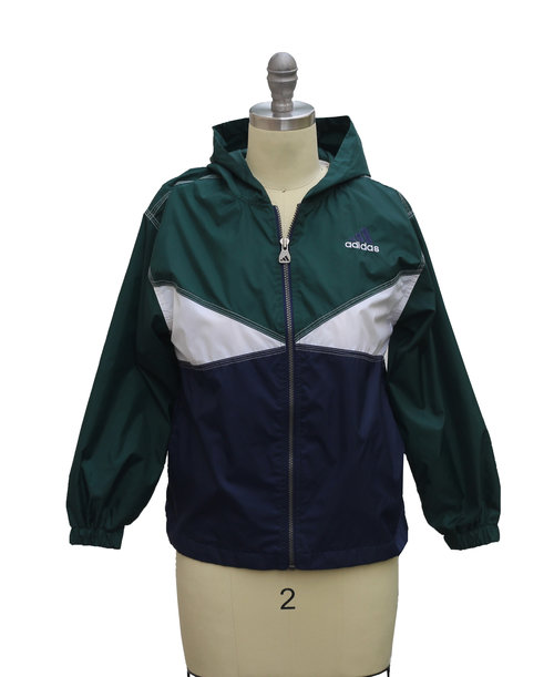 cc61c52e4a39 Vintage Adidas Colorful Big Logo Windbreaker (Size Youth S) — Roots