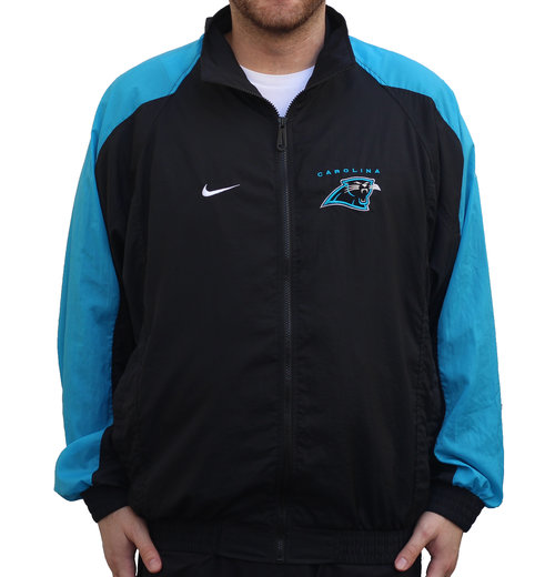 4dd4b57dc Vintage Nike Carolina Panthers Pro Line Windbreaker (Size L) — Roots