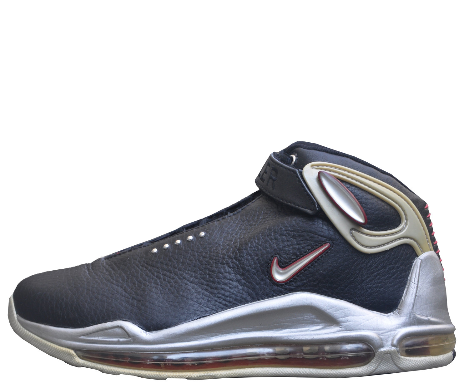 Nike Air Max Elite Battle Grounds Black   Red   Silver (Size 8.5) DS — Roots 32a59efbc