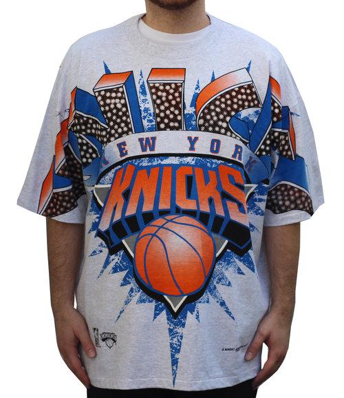 098d0f8038d Vintage Magic Johnson New York Knicks T Shirt (Size XXXL) — Roots