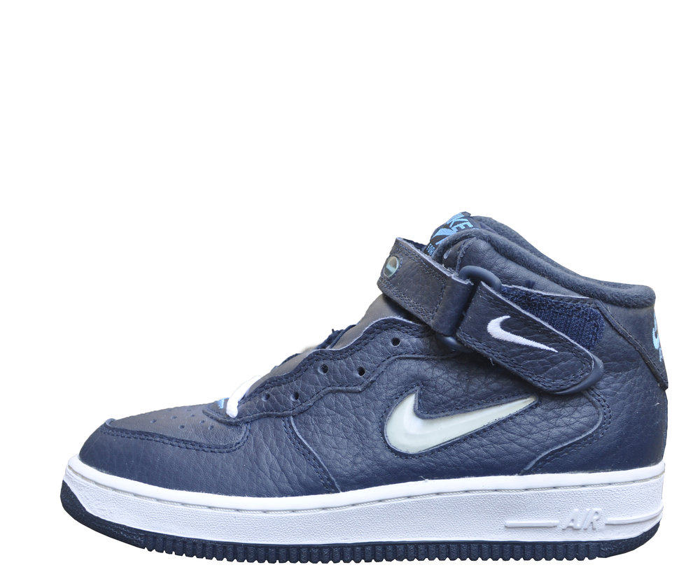 Nike Air Force 1 Bijou Bleu Moyen Sc