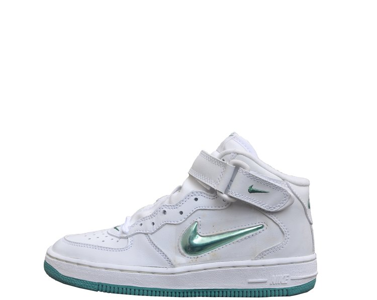 64775fdf94ca Kids Nike Air Force 1 Mid Jewel SJ SC BPS White   Jade (Size 1.5) DS ...