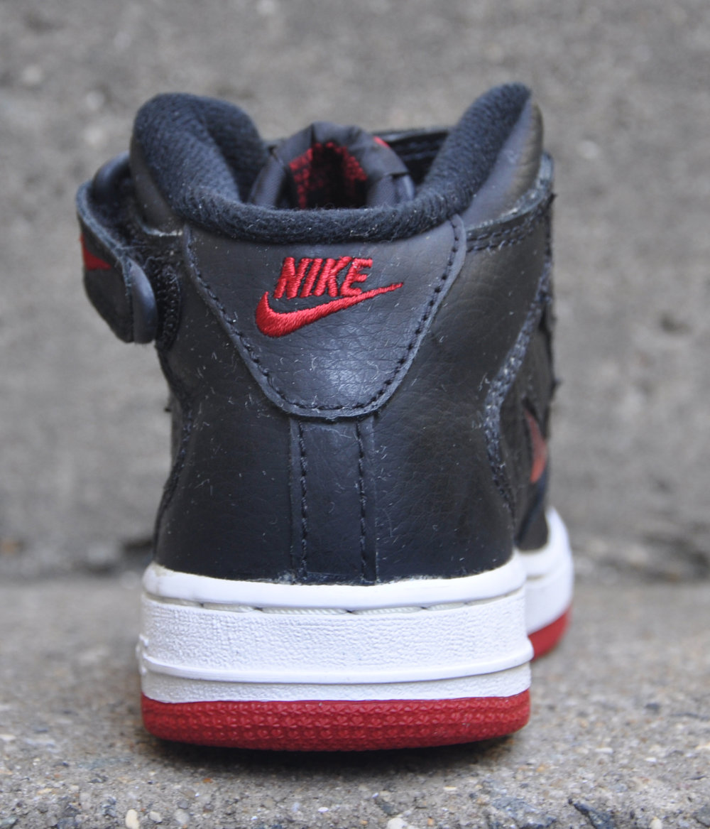outlet store c09a3 d6d2f ... best price nike air force 1 mid jewel black red ds c1692 cbd65