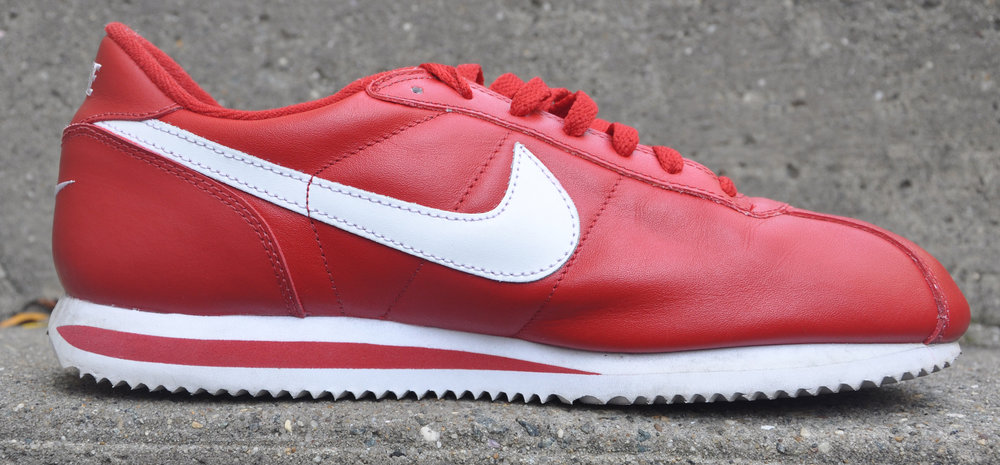 ... Nike Leather Cortez Desert Red White (Size 11.5) ...